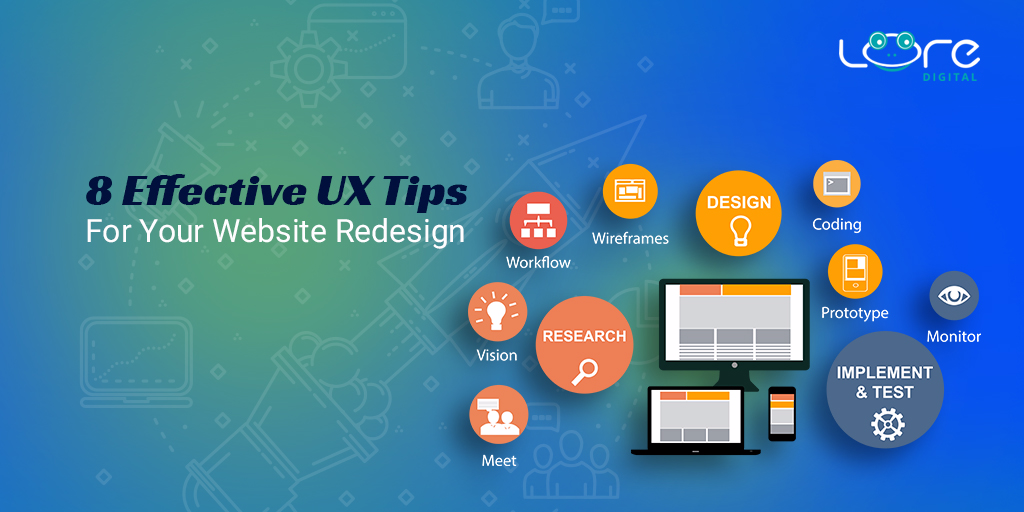 8 UX Tips For Your Next Website Redesign